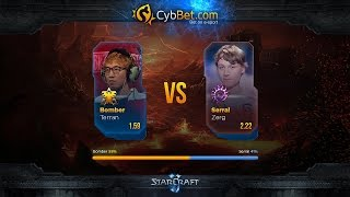 StarCraft 2 LotV Cybbet Race Wars 2016 Day 2 Match 1: Bomber vs Serral