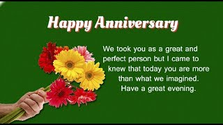 Happy Anniversary Quotes, Wishes, Messages, SMS, Greetings And Saying With Anniversary Flowers
