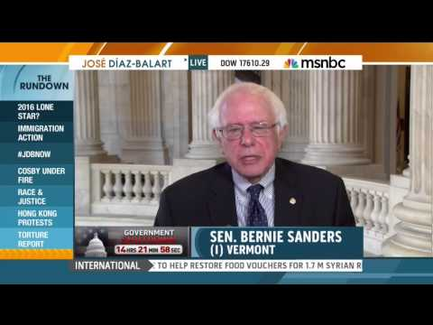 Sanders Says No to Bloated Defense Budget