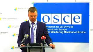 Weekly updates from the OSCE Special Monitoring Mission. UCMC 22.09.2017