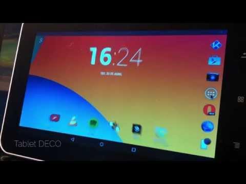 Tablet DECO Rk3026 C/ Modificações