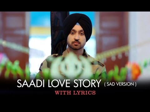 Saadi Love Story (Title Track Sad Version) - Full Song With Lyrics - Saadi Love Story