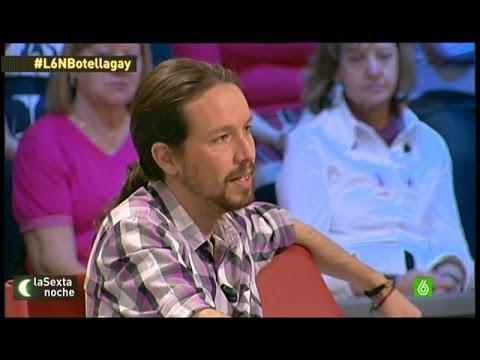 La Sexta noche - Pablo Iglesias habla sobre Ana Botella en LaSexta Noche