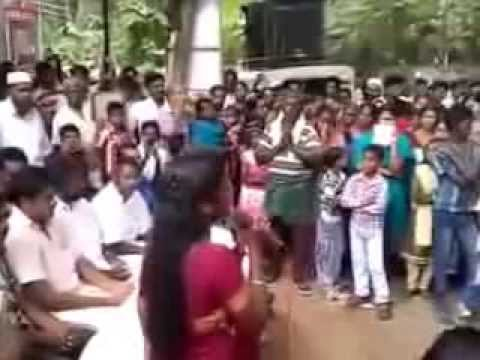 Chandralekha Singing Rajahamsame In Public Awsome video