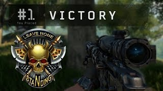 EERSTE OVERWINNING IN BLACK OUT! (COD: Black Ops 4 Battle Royale)