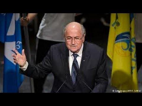 Blatter re elected Fifa president