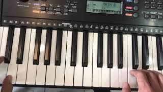 Hoàng Piano Chơi Liên Khúc Nhạc Thiếu Nhi Trên Đàn Organ Yamaha PSR-E263