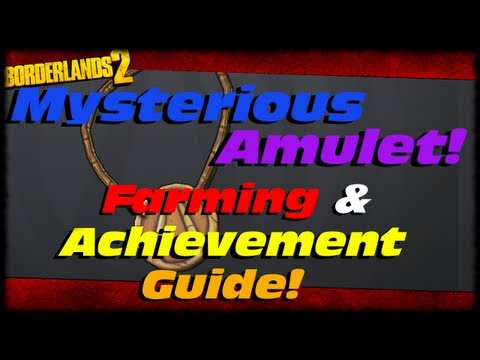 Borderlands 2 How To Get The Mysterious Amulet!!! Tiny Tina DLC Farming & Achievement Trophy Guide!