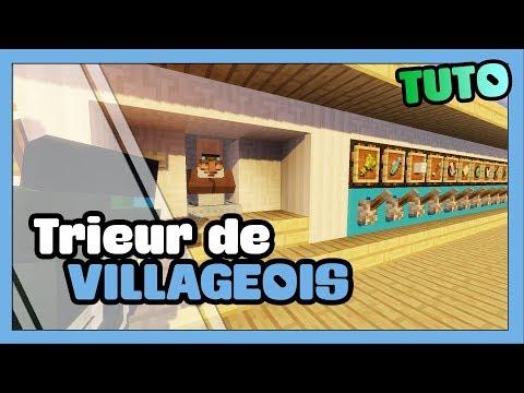 TUTO MINECRAFT   1.8, 1.9   Commerce   Episode 3: Trieuse de Villageois par métier
