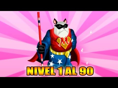Monster Legends - Super Pandalf - Nivel 1 al 90 & Combate - Review Ataques SuperHero Maze Island