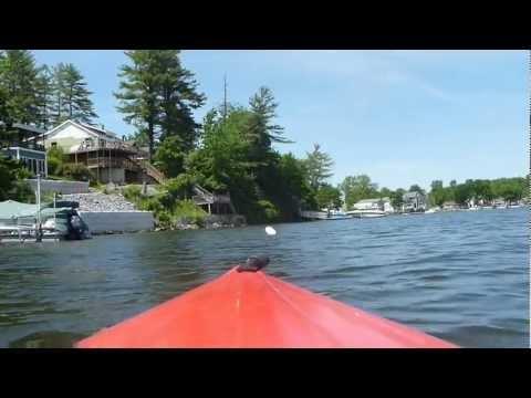 Kayaking on Saratoga Lake