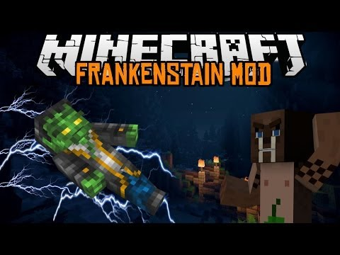 Minecraft mody 1.7.2 #61 Frankenstain Mod ON ŻYJE