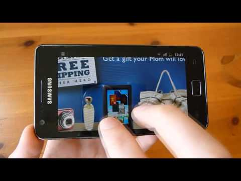 Samsung Galaxy S 2 Review - Web Browsing