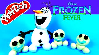 FROZEN FEVER PLAY DOH SURPRISE TOYS – Disney Olaf Snowgie Thomas & Friends Shopkins Dora