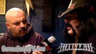 HELLYEAH's Vinnie Paul Interviewed At The Warfield