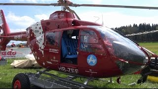 INCREDIBLE SUPER SCALE RC TURBINE MODEL HELICOPTER AIR-ZERMATT EC-135