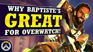 Overwatch - Why Baptiste is a GREAT New Hero Addition