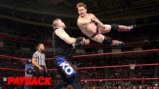 Kevin Owens vs. Chris Jericho - U.S. Title Match: WWE Payback 2017 (WWE Network Exclusive)