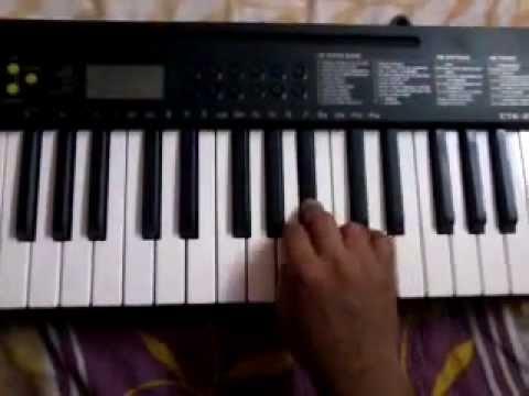 majhi radha on keyboard .mp4
