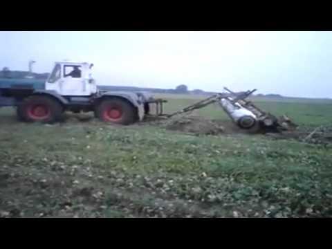 T - 150K und Original Scheibenegge