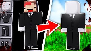 HOW TO BECOME SLENDERMAN FROM SLENDER - Minecraft TROLL + ROLEPLAY