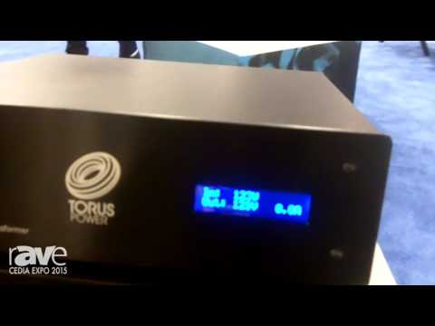 CEDIA 2015: Torus Power Intros Small TOT AVR Isolation Transformer and Voltage Regulation System