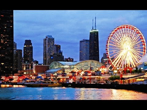 10 Best Tourist Attractions in Chicago Must Be Visited - YouTube Downtown Chicago Tourist Map on