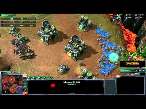 StarCraft II: Heart of the Swarm - Battle Report (Terran vs Protoss)