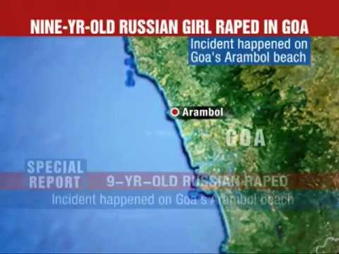Rape of a 9-year-old Russian child  in Goa India