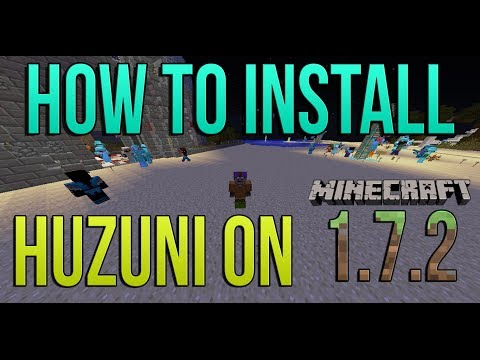 How To Install Huzuni on Minecraft 1.7.2 / 1.7.4 (Hacked Client: Kill Aura, XRay