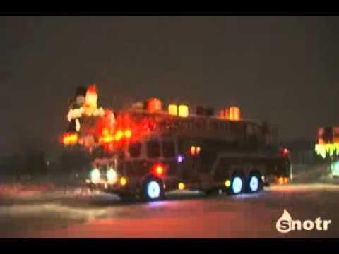 Firefighters Christmas - Рождественский пожарный автомобиль