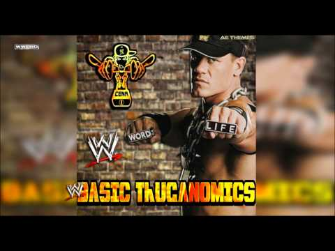 Wwe: basic Thuganomics (john Cena) Theme Song + Ae (arena Effect) video