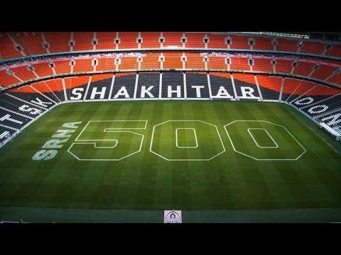 Donbass Arena: 500 appearances of Darijo Srna