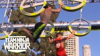 Season 2, Episode 12: Team Ronin And Towers Of Power Neck And Neck In Relay | Team Ninja Warrior