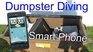 Dumpster Diving #46 Found Smart Phone