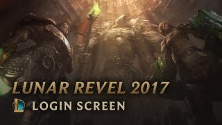 Lunar Revel 2017 | Login Screen - League of Legends