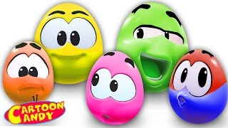 Play With Surprise Eggs | WonderBalls | Cartoons For Children  | Cartoon Candy