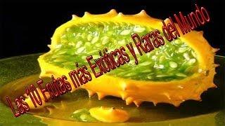 Las 10 Frutas más Exóticas y Raras del Mundo-Me Copiate
