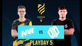 NA'VI vs Team BDS // Rainbow Six European league 2021 - Stage 1 - Playday 5