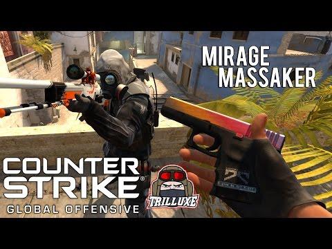 » Mirage Massaker mit Trilluxe  « - Counter-Strike:Global Offensive - de_Mirage - [Deutsch]