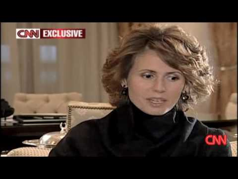 Syria's First Lady on Gaza