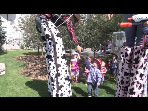 Calgary Stampede Roving Reporter - Fluor Rope Square