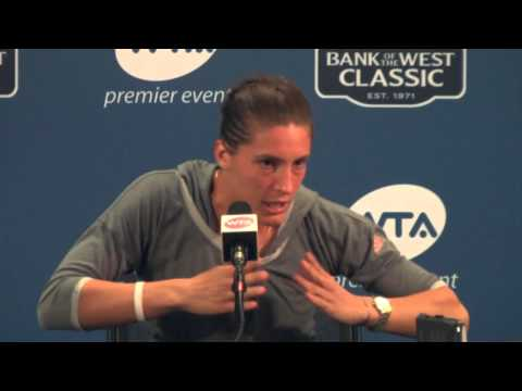 Andrea Petkovic Press Conference - August 3, 2015