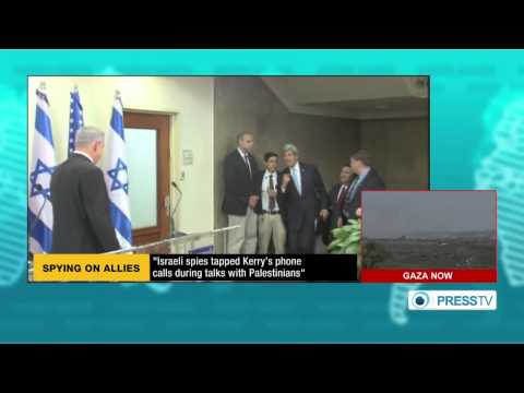 Israel spied on  Kerry's phone calls during talks with palestinians