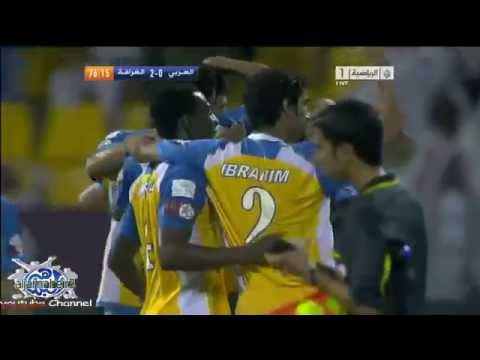 Juninho Goal great free kick ( al gharafa vs al arabi )
