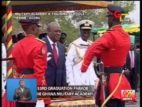 Ghana Military Academy Graduation Parade