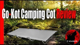 A Cot for Backpacking? -  Go-Kot Camping Cot Review