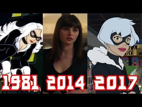 Эволюция Черной Кошки все появления в фильмах и мультфильмах (1981-2017)