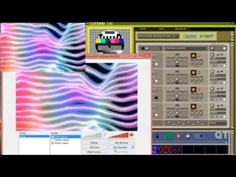 Elektronika Tutorial 11 - Recording output with Open Broadcaster