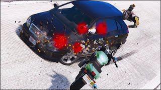 GTA 5 BIKE CRASHES & ACCIDENTS Ep.5 (Euphoria Physics)